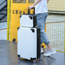 "Luxury Suitcase Set Men Women 's Travel Luggage Waterproof Box Wheel Suitcase 20""26"" Inch Rolling Trolley Case Travel Bags(China)"