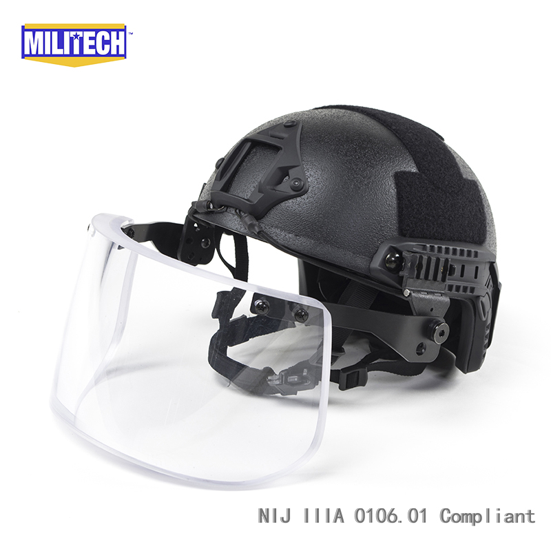 Militech Cb Nij Iiia 3a Mich Bullet Proof Helmet Aramid Ach Ballistic Helmet Bulletproof Mich 3a 2000 Helmet With Test Report Back To Search Resultssecurity & Protection