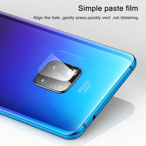 Image 3 - 2PC for Huawei Mate 20 pro Camera Lens Tempered Glass Explosion Proof Rear Camera Lens Protector for Huawei Mate 20 30 X P20 Pro