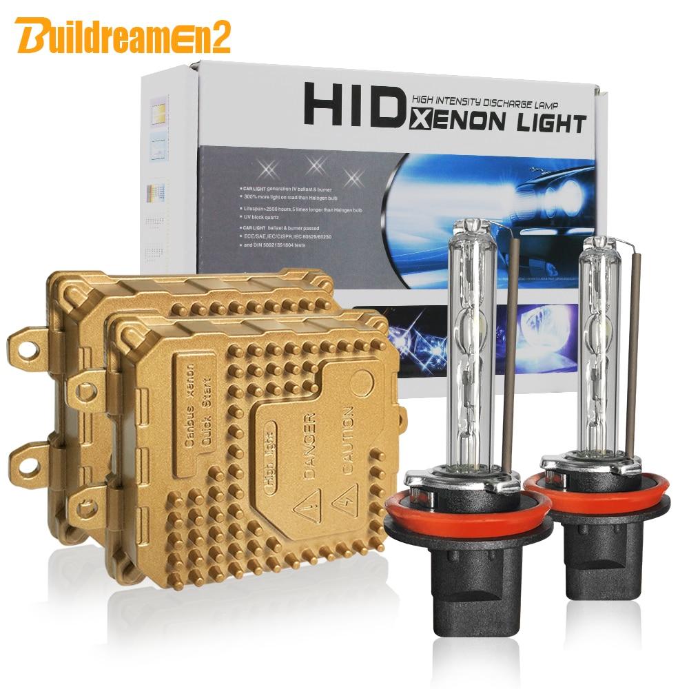 Buildreamen2 9005 HB3 9006 HB4 H1 H3 H7 H8 H9 H11 881 880 55 W Voiture Lumière CACHÉ Kit Xénon AC Ballast Ampoule Auto Phare Antibrouillard