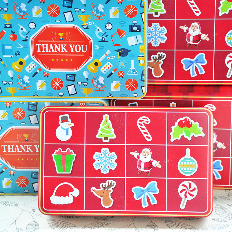 215x135x48mm dárková krabička propagační balení box čokoládová kovová krabička