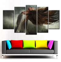 Home Decor Picture 5 Panels Canvas Painting sanke poster Wall Art Painting Modern