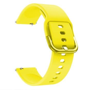 Bracelet de montre 20mm pour Samsung Galaxy montre Active 2 40/44mm Sport silicone bracelets intelligents pour Samsung Gear S2 classique 732 bracelet 3