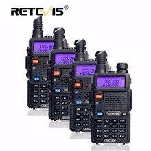 4 sztuk walkie retevis rt-5r 5 w 128ch uhf vhf dtmf Podręczny Ham Radio Comunicador Hf Transceiver Two Way Radio Station Radio