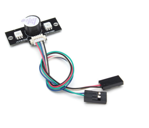 <font><b>apm</b></font> flighter parts LED Highlight Expansion Board & Buzzer <font><b>APM</b></font> 2.6 <font><b>2.8</b></font> External LED Module for FPV Drone image