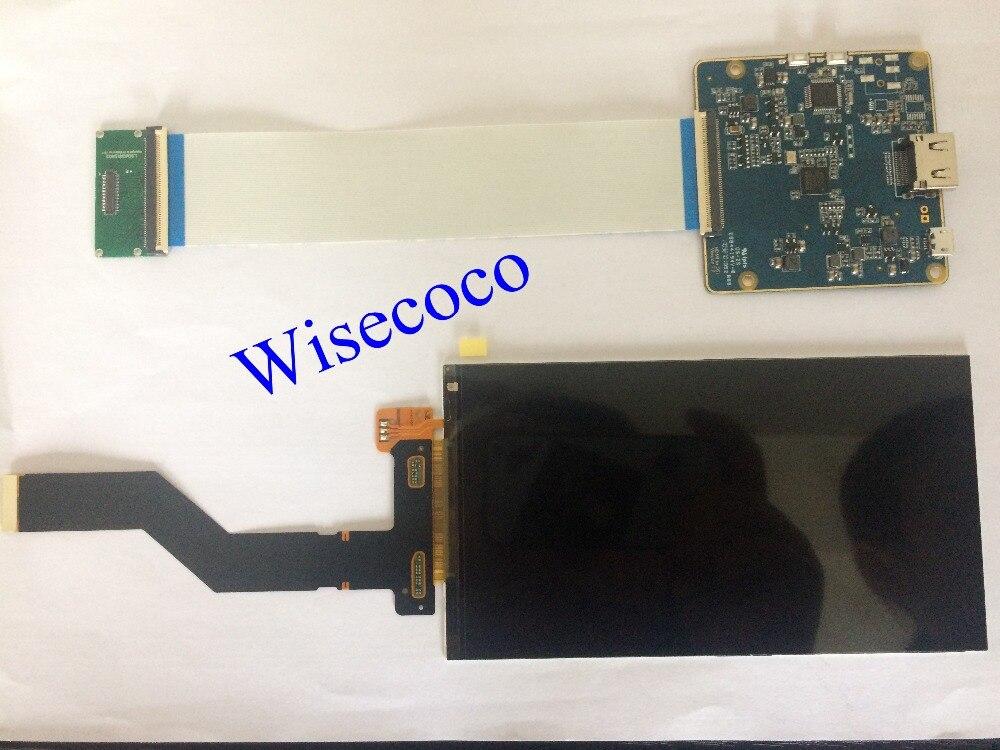 1440 p 6 polegada WQHD monitor hdmi lcd placa de controle COM 60Hz taxa de atualização para diy vr óculos Padrão