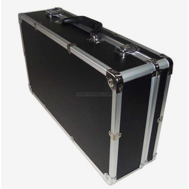 Aluminium Tool Case Outdoor Voertuig Kit Doos Draagbare Veiligheid Apparatuur instrument Case Koffer Outdoor Veiligheid Apparatuur