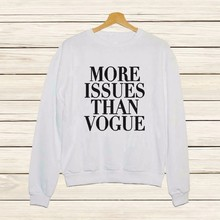 2016 Autumn Fashion Long-sleeved Women's Long-sleeved Sweatshirts Black White As1559