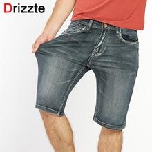 Drizzte бренд Для мужчин s легкий джинсовые шорты; деним Большие джинсы короткие для Для мужчин Брюки для девочек Лето 34 35 36 38 40 42