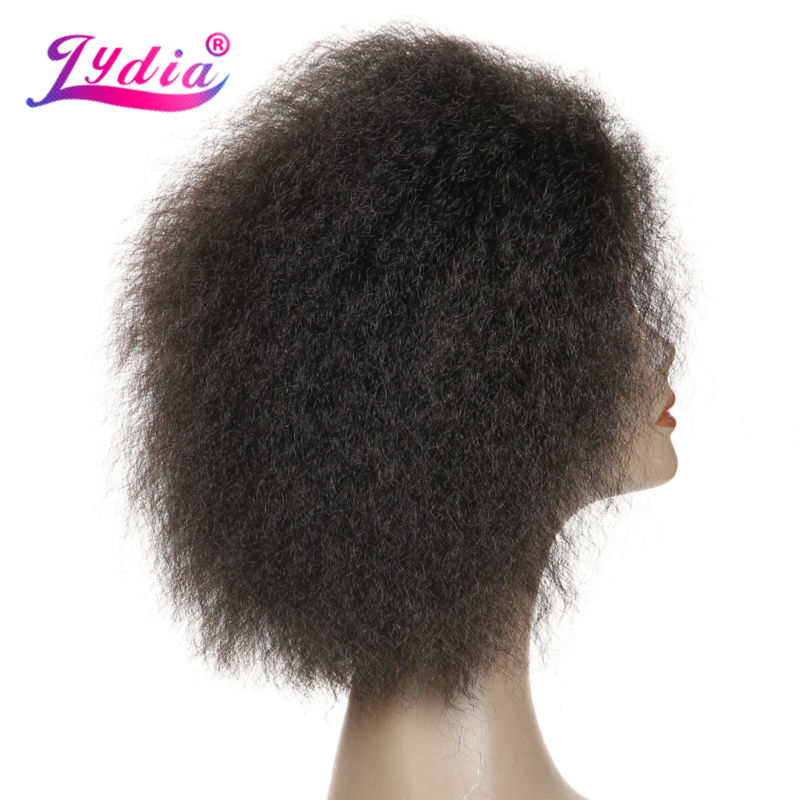 Lydia Kurze Synthetische Perücken Keine Lace Front Perücke - Synthetisches Haar - Foto 3