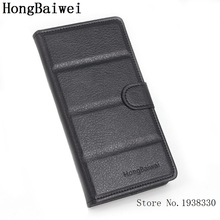 HongBaiwei For FLY IQ4413 Flip PU Leather Case Cover For FLY IQ 4413 Phone Skin Phone Cases