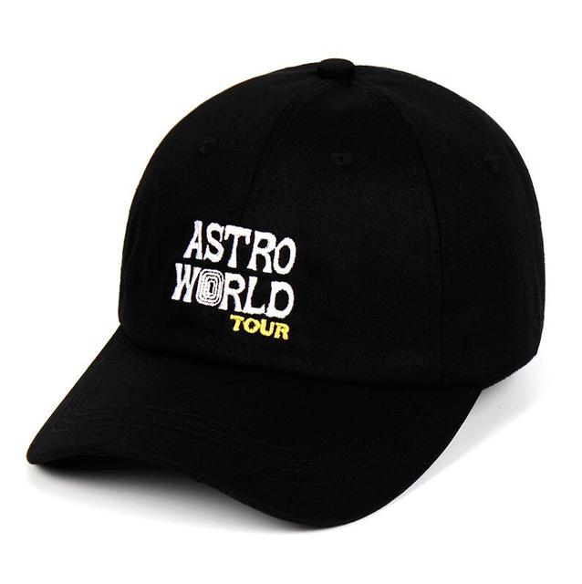 UKKO Baseball Cap 100/% Cotton Astroworld Baseball Caps Travis Scott Unisex Astroworld Dad Hat Cap Embroidery Man Women Summer Hat