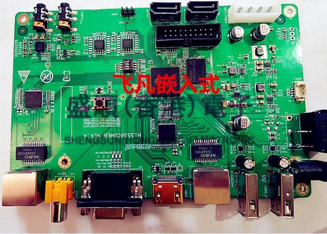 Hi3536c Development Board Dual Gigabit 1080p H265 Hdmi To Send Corresponding Schematic Pcb
