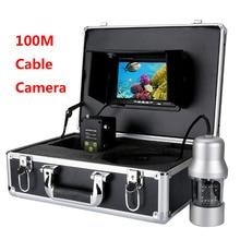 Maotewang 20 м 50 м 100 м кабель Камера Рыболокаторы 1000TVL Подводная охота Камера 6 Вт светодиодов 360 градусов вращающийся 7 дюймов ЖК-дисплей монитор