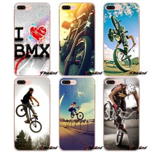 Bicycle Motocross Player BMX Bike For iPhone X 4 4S 5 5S 5C SE 6 6S 7 8 Plus Samsung Galaxy J1 J3 J5 J7 A3 A5 2016 2017 TPU Case(China)