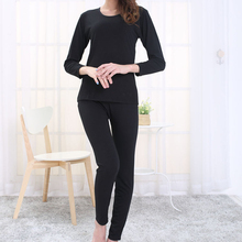 Autumn Winter Women's Thermal Fleece Underwear Set Warm Ultra-thin Slim Fit Soft Breathable Long Johns Female Clothing