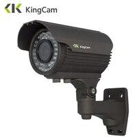 KingCam 48V POE 2 8mm 12mm Manual Varifocal Lens 2MP 4MP Metal IP Camera Outdoor ONVIF