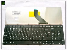 Russian Keyboard for Fujitsu Lifebook A530 A531 AH530 AH531 AH502 NH751 RU Black