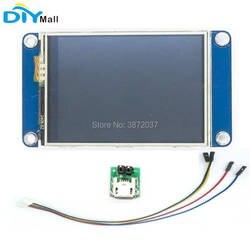"""Nextion 2,4 """"TFT 320x240 NX3224T024 HMI резистивный сенсорный экран UART смарт-дисплей модуль для Arduino Raspberry Pi ESP8266"""