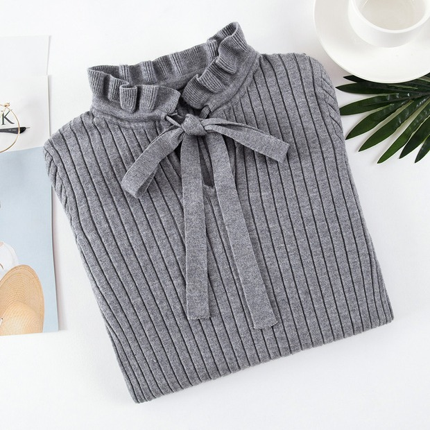 19 new fashion Slim Knitted Sweater Female Long Sleeve Autumn Sweater Womens Pullovers Sweaters Winter Sweater Women 8