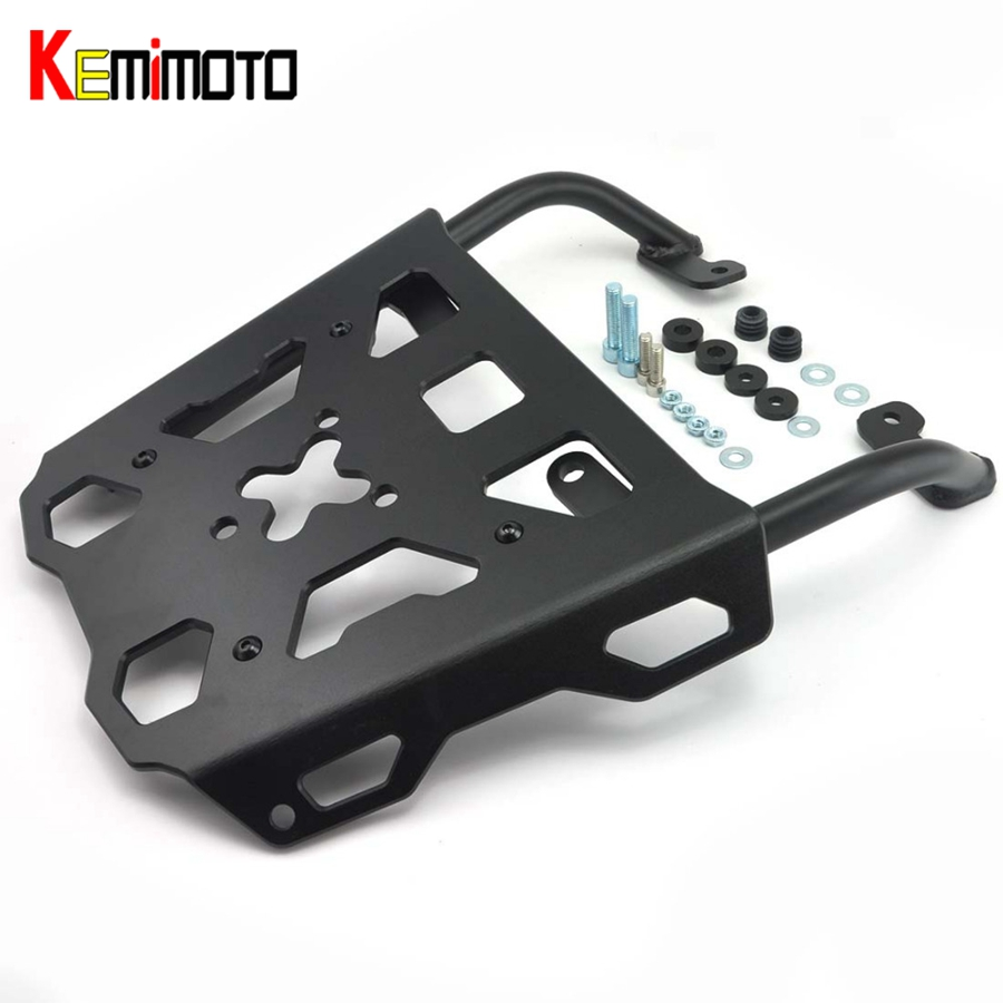 KEMiMOTO For YAMAHA FJ-09 MT-09 Tracer 2015 2016 MT 09 MT09 Tracer FJ09 2016 Motorcycle Accessories Rear Carrier Luggage Rack for yamaha fj 09 mt 09 tracer 2015 2016 motorcycle cnc aluminum rear carrier luggage rack