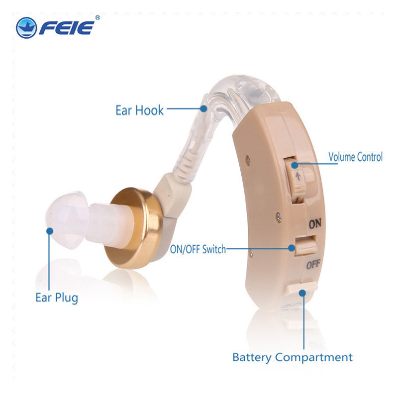 Innovative Products China Ear Aparat FEIE Beige Aparelho Auditivo With Clear Sound S-8b Hearing Aid Cheap Price free shipping 2016 new products cheap china feie brand invisible digital hearing aid audiofone amplificador de surdez s 10a audifono with a10