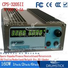 Stetige Gophert CPS 3205II 160W Mini Digital DC Power Versorgung CPS 3205 Einstellbar 0 30V 5V 12V 15V 24V 0 5A Abschließbar 110 V/220 V