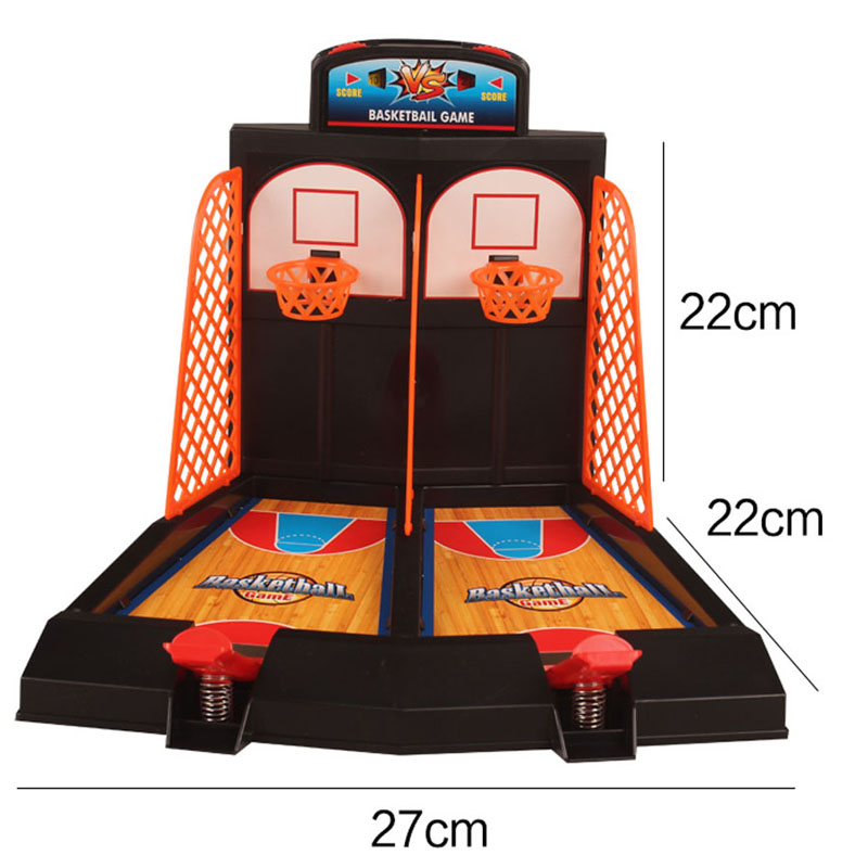 Kid Mini Basketball Toy Basketball Stand Indoor Outdoor Parent-Child Family Fun Table Game Toy Basketball Shooting Games