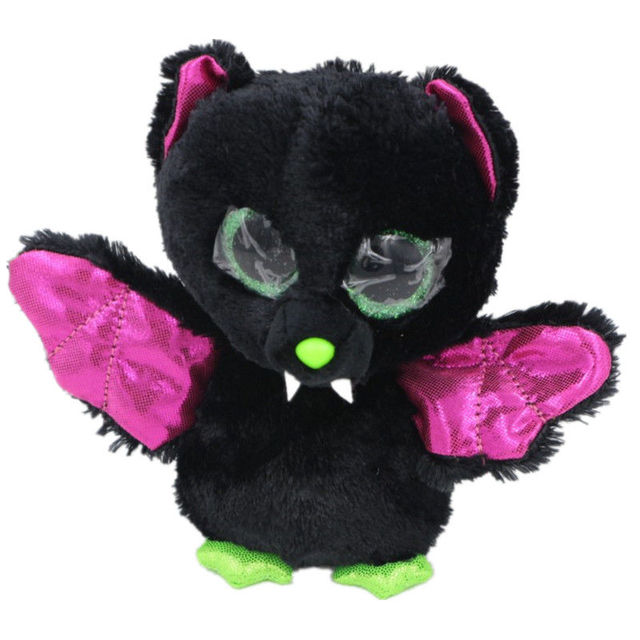 new TY Beanie Boos bat unicorn Stuffed Plush Animals one piece 15cm Soft  Mini baby lovely troll doll hot toy china b8c50bbebe8