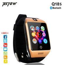 Ограниченное предложение RsFow Q18S Шагомер Смарт часы с Сенсорный экран камеры sim-карта TF NFC Bluetooth Smartwatch для Android IOS Телефон