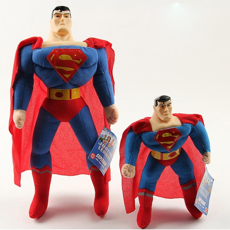 The Avengers Superman Plush Toys Doll Marvel Superhero Superman Plush Soft Stuffed Toys for Kids Children Xmas Gifts 25cm 40cm