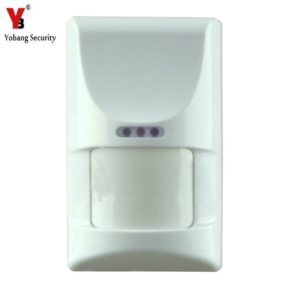 imágenes para YobangSecurity 433 MHz inmunidad a mascotas sensor pir inalámbrico infrarrojo pasivo detector de sistema de alarma
