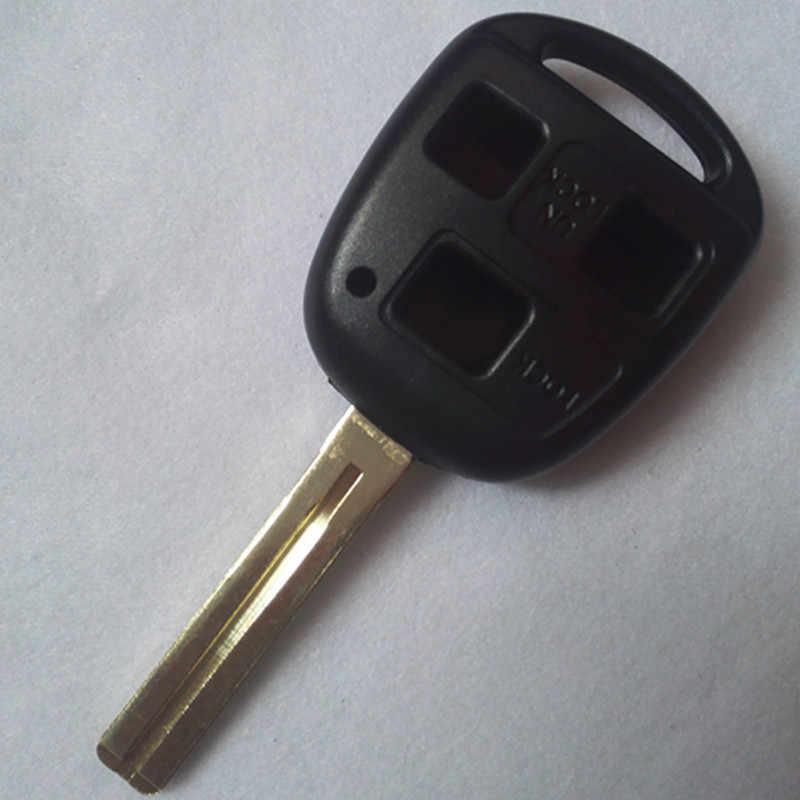 DAKATU Замена видоизмененный ключ дистанционного управления автомобилем для Lexus RX300 ES300 IS35 IS200 ES240 пульт дистанционного ключа оболочки 2/3 Кнопка TOY48 (шорты) с логотипом