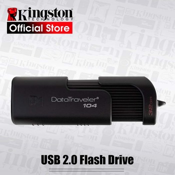 Kingston DT104 32GB USB Flash Drives Business Office Car 32gb USB 2.0 Pen Drive high speed PenDrives USB Stick