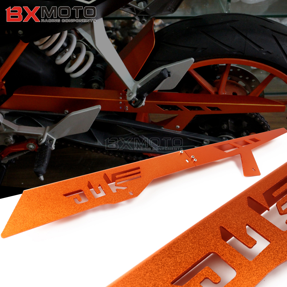 Motorcyle Accessories Chain Protector Guard Cover For For KTM DUKE 390 2013-2018 DUKE 250 2017-2018 DUKE 125 DUKE 200 motorcycle rear brake master cylinder reservoir cove for ktm duke 125 200 390 rc200 rc390 2012 2013 2014