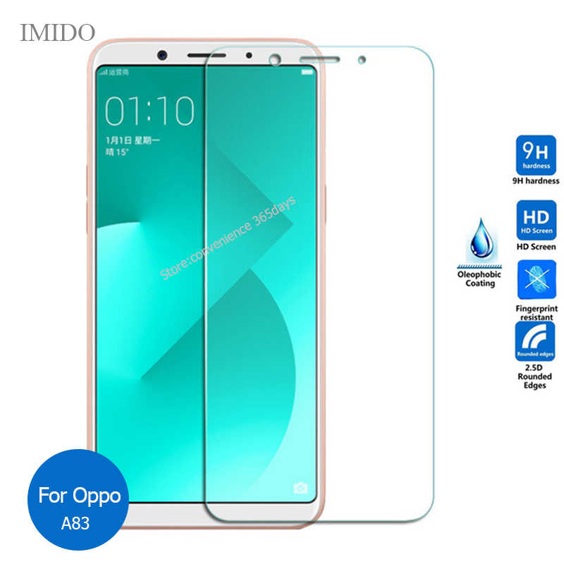 2PCS For OPPO F11 A7 A9 F9 A3S A5 A71 F5 A5S F7 A83 Tempered glass Screen Protector 9H Safety Glass Film on A 5S 5 9 73S 83 F11