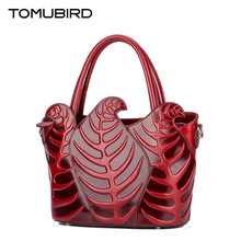 TOMUBIRD new Superior cowhide leather Designer Inspired Ladies Top Handle Handbags Embossed Leather Satchel Tote Shoulder Bags