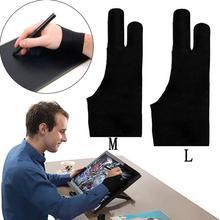 Художественные перчатки для планшета, Масляные карандаши, живопись, графический iPad для монитора, графический Pro с двумя пальцами планшета, рисунок и