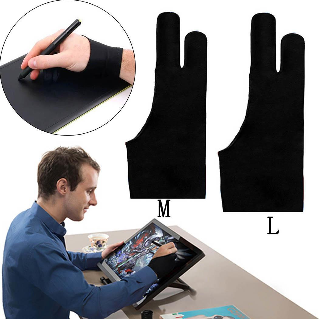 Artist Tablet Gloves Oil Pencil Painting Graphic IPad For Monitor Graphic Pro With Two Tablet Fingers Drawing And