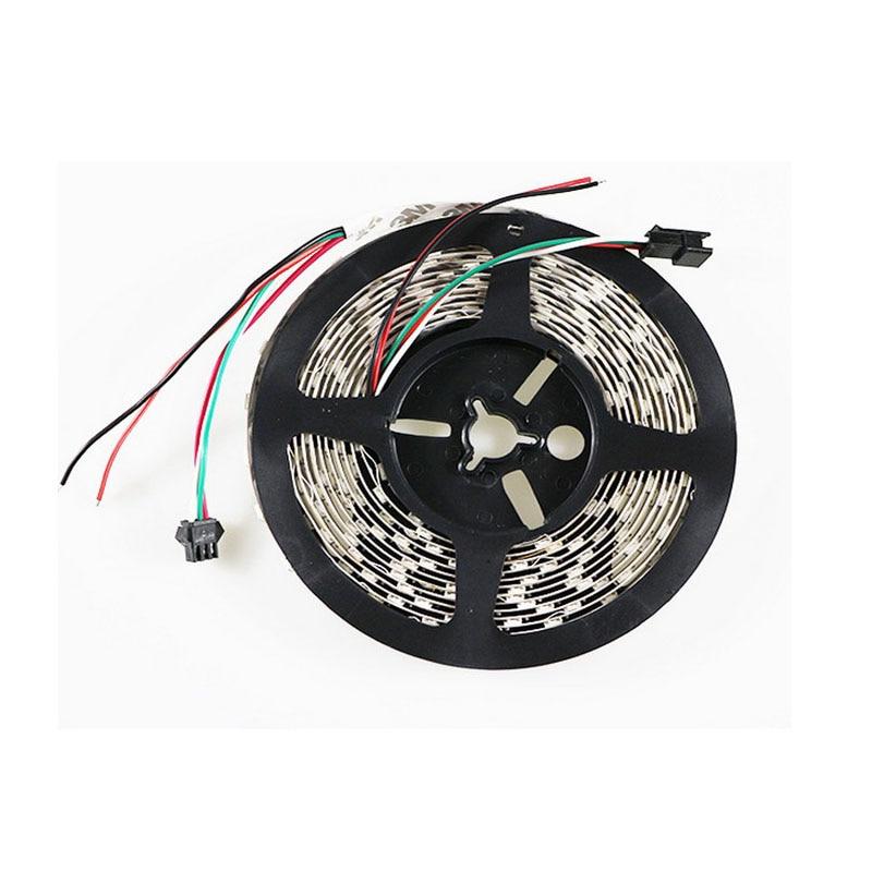 5mX Yüksək keyfiyyətli WS2812B rəqəmsal ünvanlı 5050 RGB LED - LED işıqlandırma - Fotoqrafiya 5