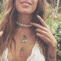 Sea Shell Choker Necklaces Women Fashion Summer Choker Necklace Goth boho Beach Jewelry Collar