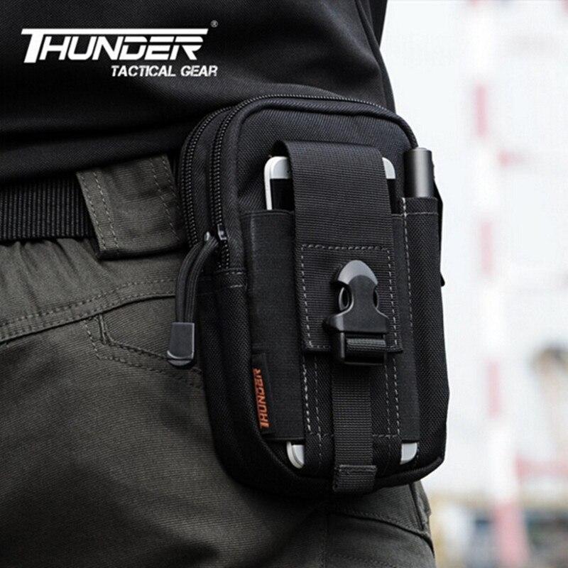 Honest D30 Tactical Molle Waist Bags Men's Casual Waist Pack Purse Mobile Phone Case For Samsung Note 2 3 4 1000d Cordura