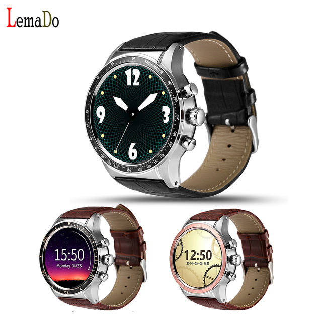 LEMADO Y3 Smart watch Android 5.1 OS Quad core 512 МБ RAM + 4 ГБ ROM Heart Rate Monitor 3 Г wi-fi Наручные Часы