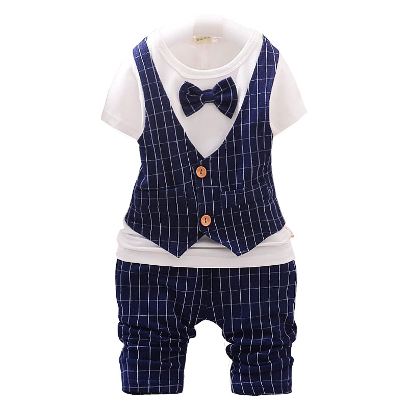 summer baby clothing set fashion new design cotton suits baby boys clothes short sleeve t shirt capris setsin clothing sets from mother