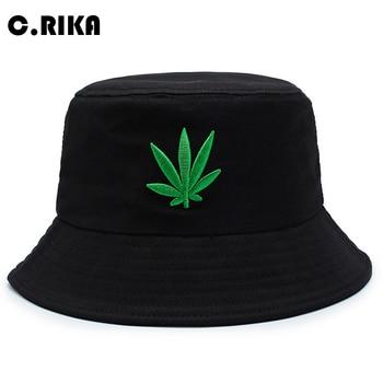 1d3ed2cb5e881 Hierba de verano tapa de cubo sombrero para hombres Hip Hop pescador  Sombreros de Panamá al aire libre verano Casual botín Bob visera de sol  sombrero