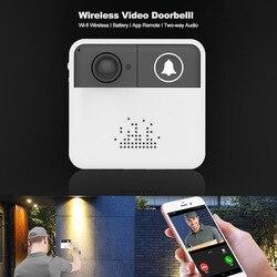 OLOEY WI-FI Campainha Vídeo Porteiro IP WI-FI Câmera Campainha Da Porta Telefone Video Da Porta Para Apartamentos de Câmeras de Segurança Sem Fio do Alarme