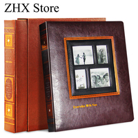 High Quality PU Leather Cover Memorial Album New Year Gift Interleaf Type 5 6 7 8