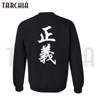 TARCHIA Free Shipping hoodies sweatshirt personalized Double sided print man coat casual parental survetement one piece marine