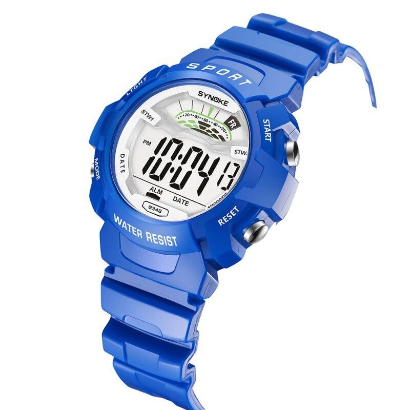 2019 Neuestes Design Synoke Kinder Uhr Wasserdichte Uhr Digital Led Sport Uhr Armbanduhren Kinder Kleid Reloj Reines Und Mildes Aroma Uhren