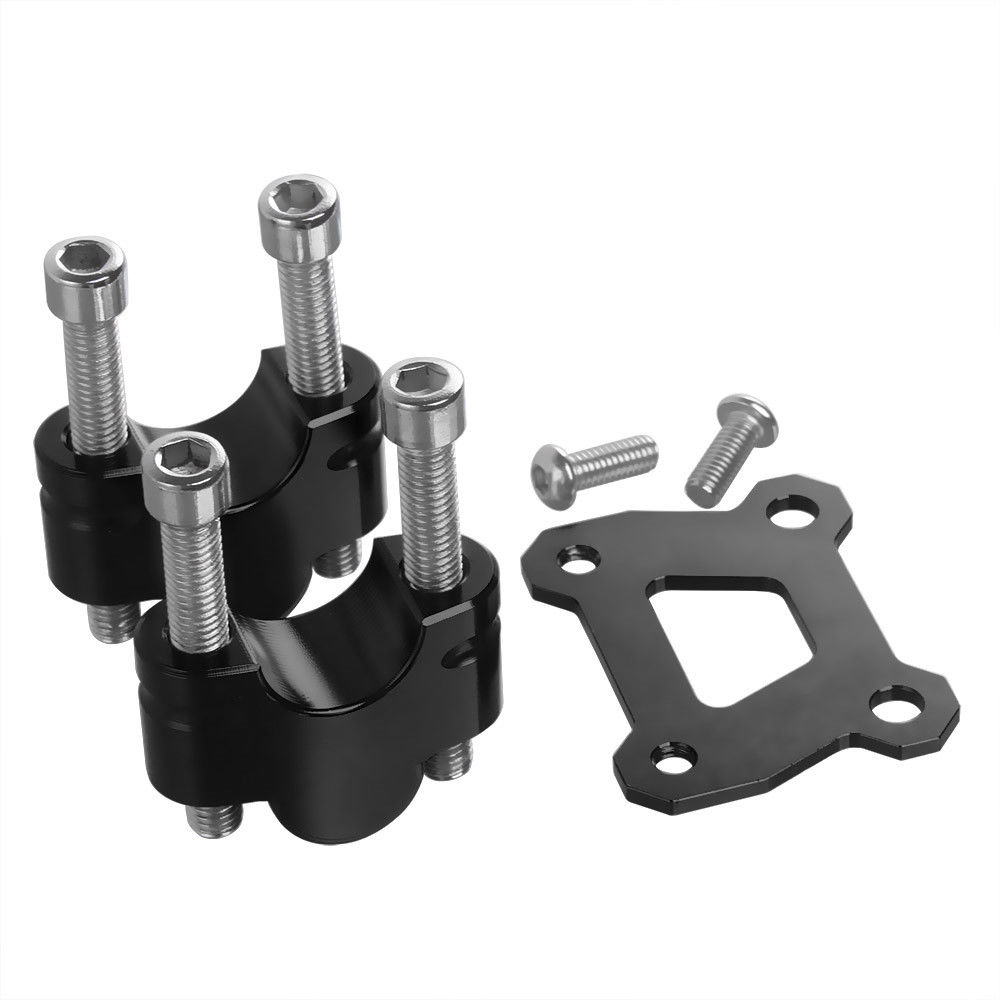 Left Right Up 25mm Handlebar Bar Riser Clamp Mount for Yamaha MT FZ 07 MT07 FZ07 MT 07 FZ 07 Tracer XSR 700 2014 2015 2016 2017 in Handlebar from Automobiles Motorcycles